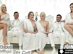 MormonGirlz- Virgin pussy stretched by a huge cock