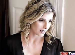 Teen a coot needs help from her MILF stepmom to get off