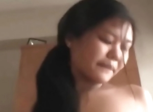 Big tits pregnant preggo asian girls threesome with hookers