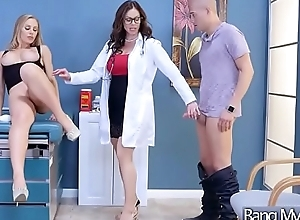 Sex Tape Beside Destructive Doctor Banging Slut Patient (Kendra Lust &amp_ Nicole Aniston) mov-28