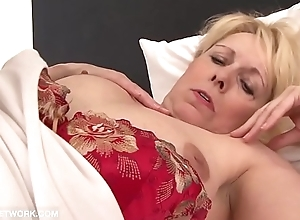 Step Mam and black son have secret sex hardcore interracial jizz licking