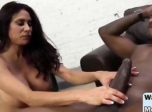 Huge dick for mommy and daughter