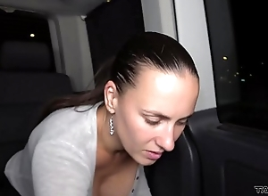 Night party in driving van in the air famous pornstars Mea Melone &amp_ Wendy Moon