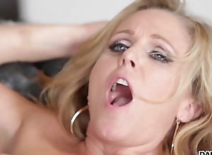 Busty Flaxen-haired MILF Julia Ann Gets A BBC Drilling