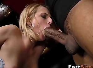 Babe drilled by black guys