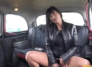 Lucky sexy lady Tera Gaiety takes a free ride and fucks the driver