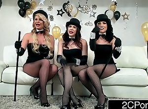 New Year Party Orgy - Chanel Preston, Kristina Rose, Phoenix Marie